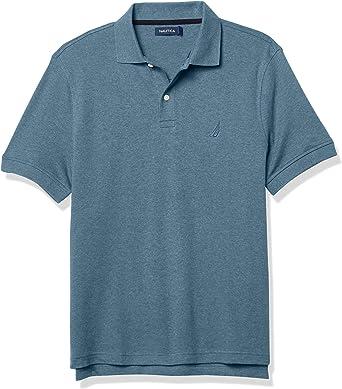 Nautica Mens Classic Fit Interlock Polo Camisa Hombre