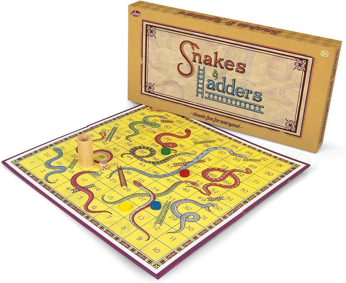 Tobar Serpientes y escaleras Juegos de Mesa
