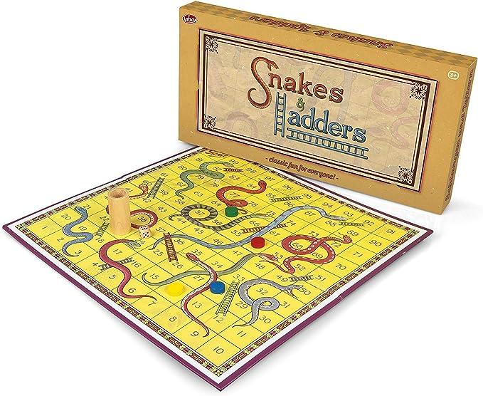 Tobar Serpientes y escaleras Juegos de Mesa: Amazon.es: Juguetes y juegos