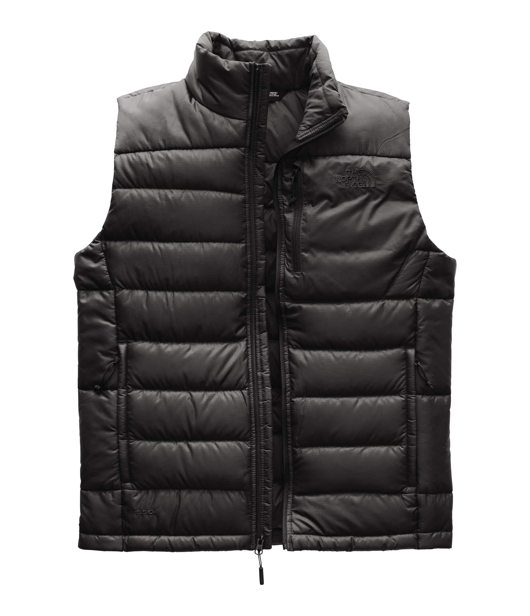 The North Face Men's Aconcagua Vest - Asphalt Grey - L by The North Face