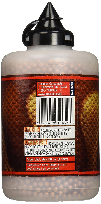Bbs & Pellets The Best Crosman 767 Copperhead .177 Bb In Plastic Bottle 6000 Count