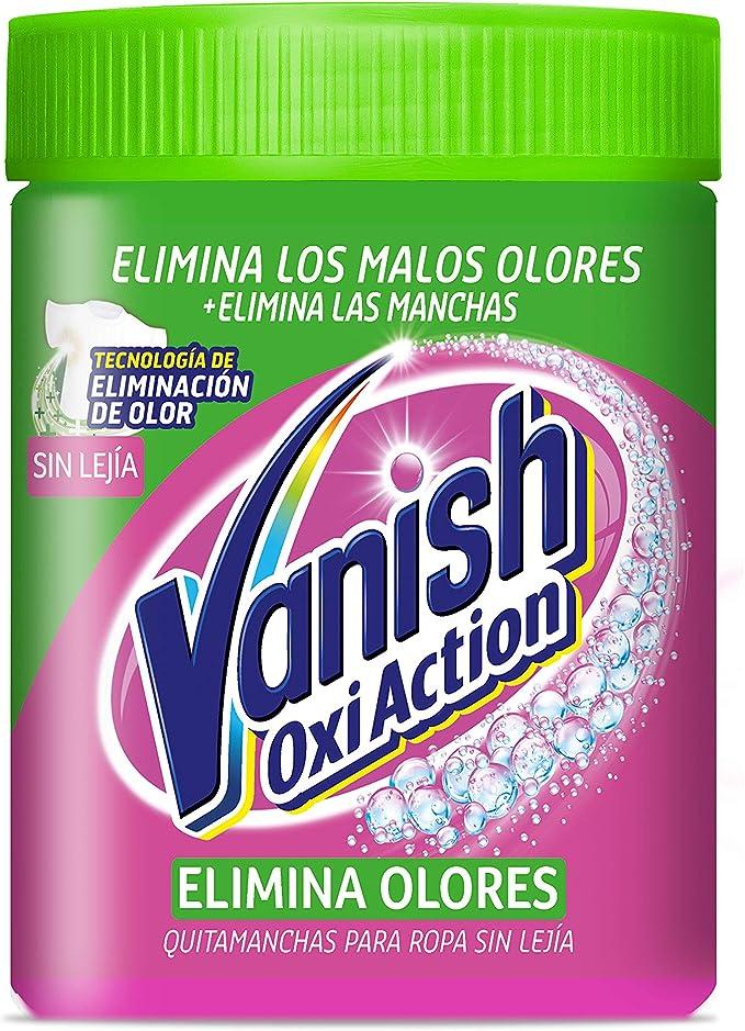 Vanish Elimina Olores Quitamanchas formato Polvo, fórmula sin lejía - 840 gr: Amazon.es: Salud y cuidado personal