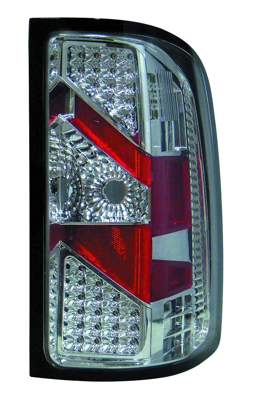 Depo M35-1905P-ASV GMC Sierra Chrome LED Tail Light Assembly