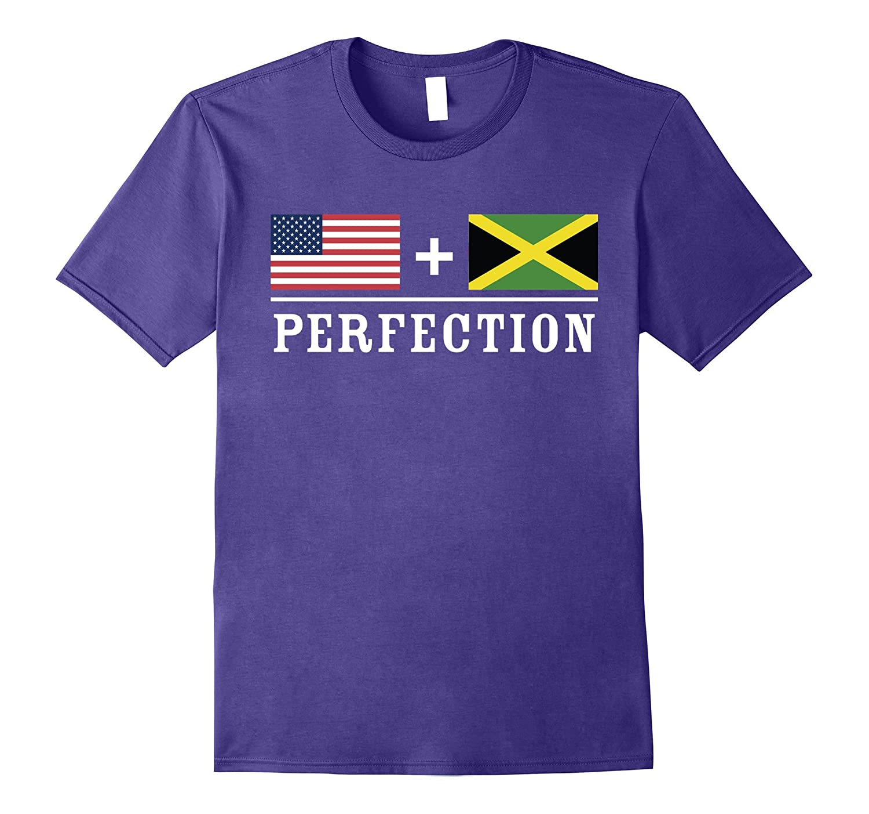American  Jamaican  Perfection Flag T-Shirt-Vaci