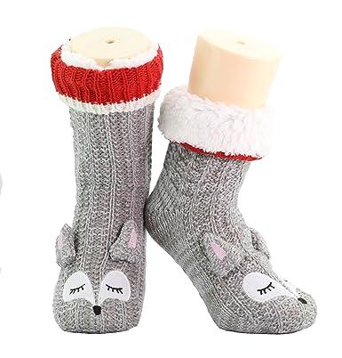 CityComfort Pantuflas Mujer Invierno Antideslizantes Mujer Pantuflas de Estar por Casa Pantufla Invierno Calcetines Extra Suave