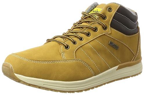 His 044-010 Mens Chukka Boots Gelb (Tan) 9.5 UK