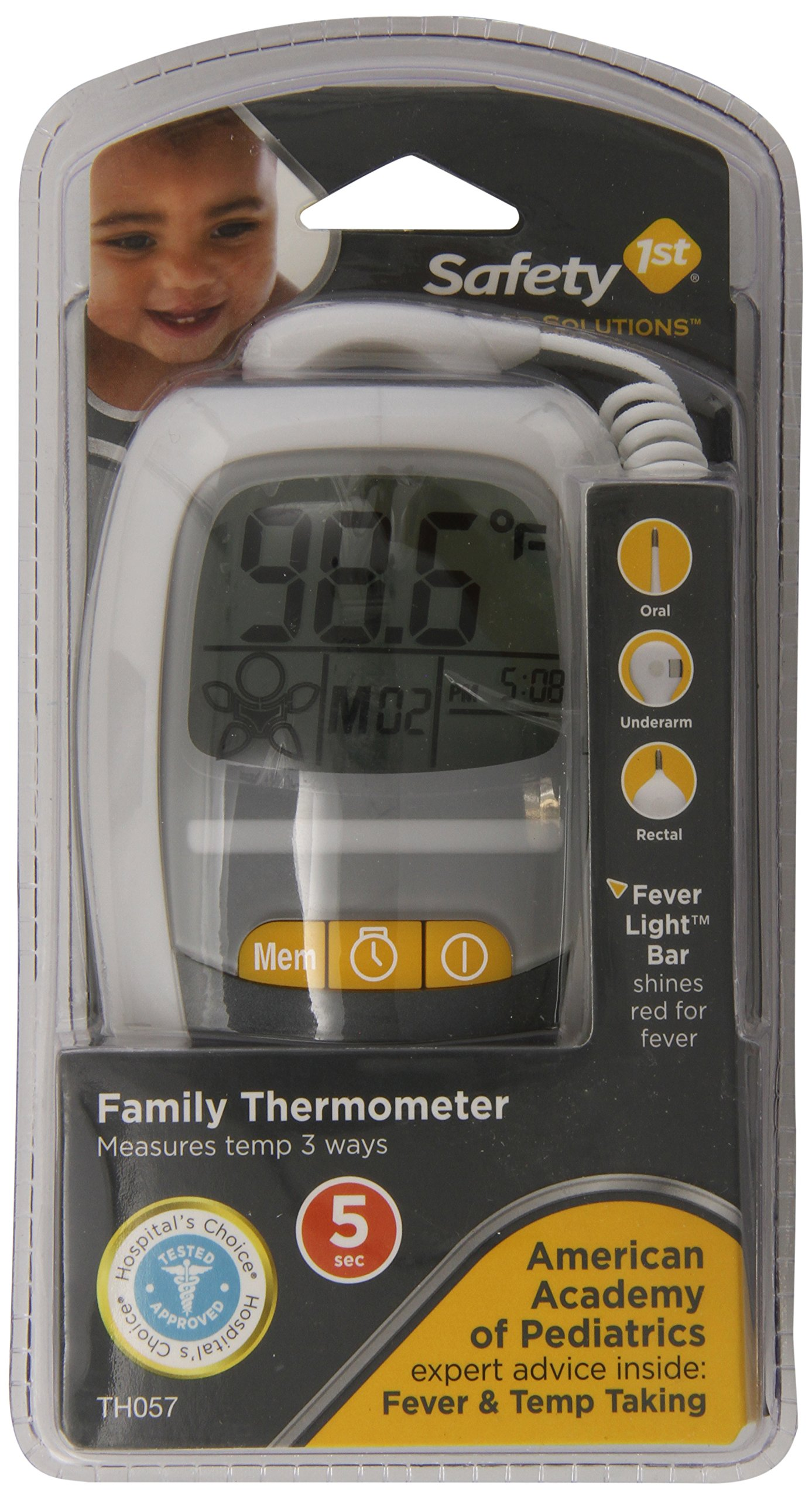 Safety 1st Advanced Solutions Family Thermometer