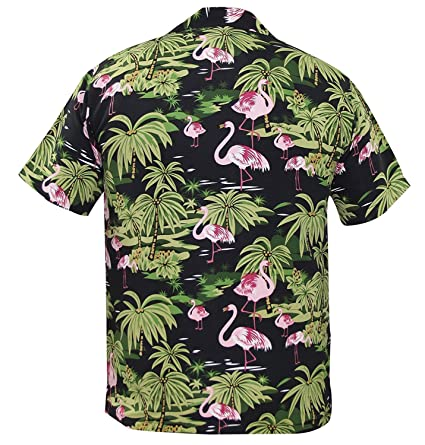 New Mens Hawaiian Shirt Stag Beach Tropical Aloha Party Fancy Dress Costume Top: Amazon.es: Ropa y accesorios