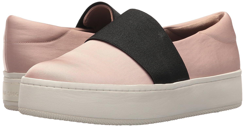 Via Spiga Women's Traynor Slip Sneaker B0752XSDB9 7 B(M) US|Blush Canvas
