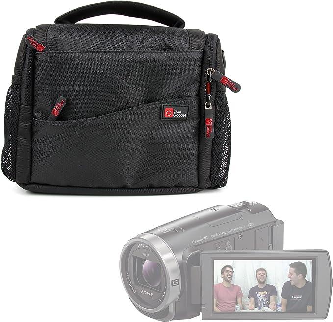 Camera Shoulder Bag Case For/SONY/FDR-AX53 4K Ultra HD Camcorder Navitech Black Camcorder
