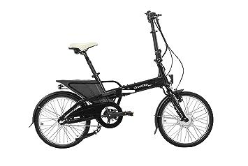 Matra cc60031603 bicicleta plegable eléctrica unisex, color negro mate