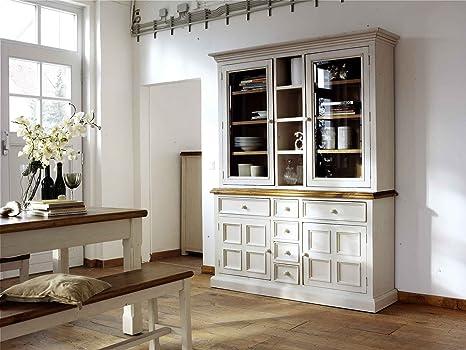 lifestyle4living Buffet, Buffetschrank, Landhaus, Anrichte ...