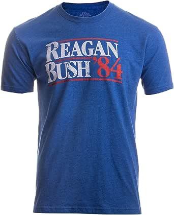 Reagan Bush '84 | Vintage Style Conservative Republican GOP Unisex T-Shirt