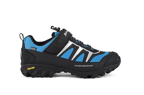 Massi Canyon - Zapatillas de ciclismo MTB unisex, color negro, talla 37