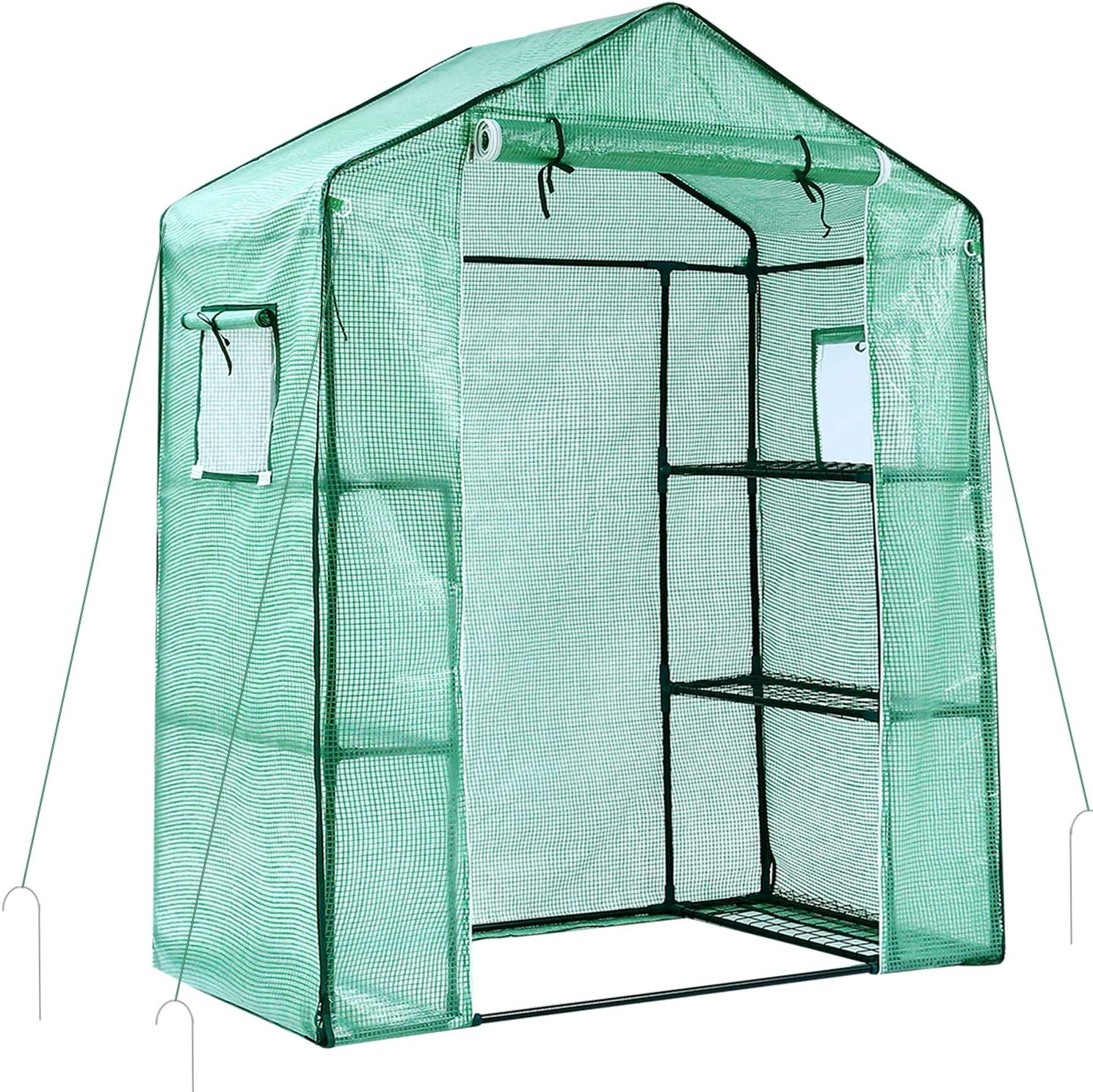 Ohuhu Greenhouse for Outdoors with Observation Windows New Version