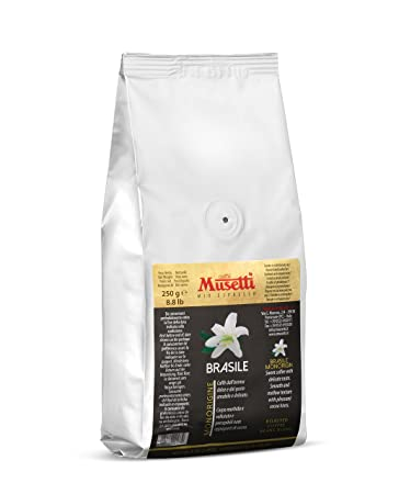 Musetti Coffee - Single Origin - Specialty Coffee Beans (Brazil, 250 g, bag