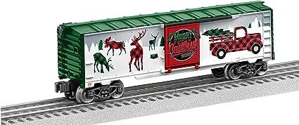 Lionel 2020 Christmas Boxcar Amazon.com: Lionel Christmas, Electric O Gauge Model Train Cars