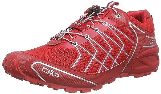 Xianv - Chaussures De Course En Caoutchouc Pour Les Hommes, Rouge, Taille 40 Eu