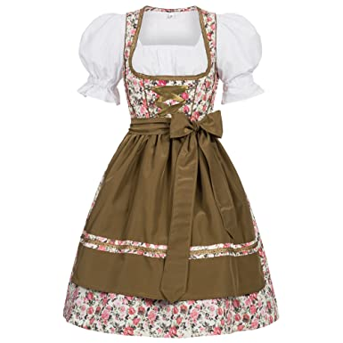 b151ddfead5 Gaudi-leathers Women's German Dirndl Dress Costumes for Bavarian  Oktoberfest Carnival Halloween