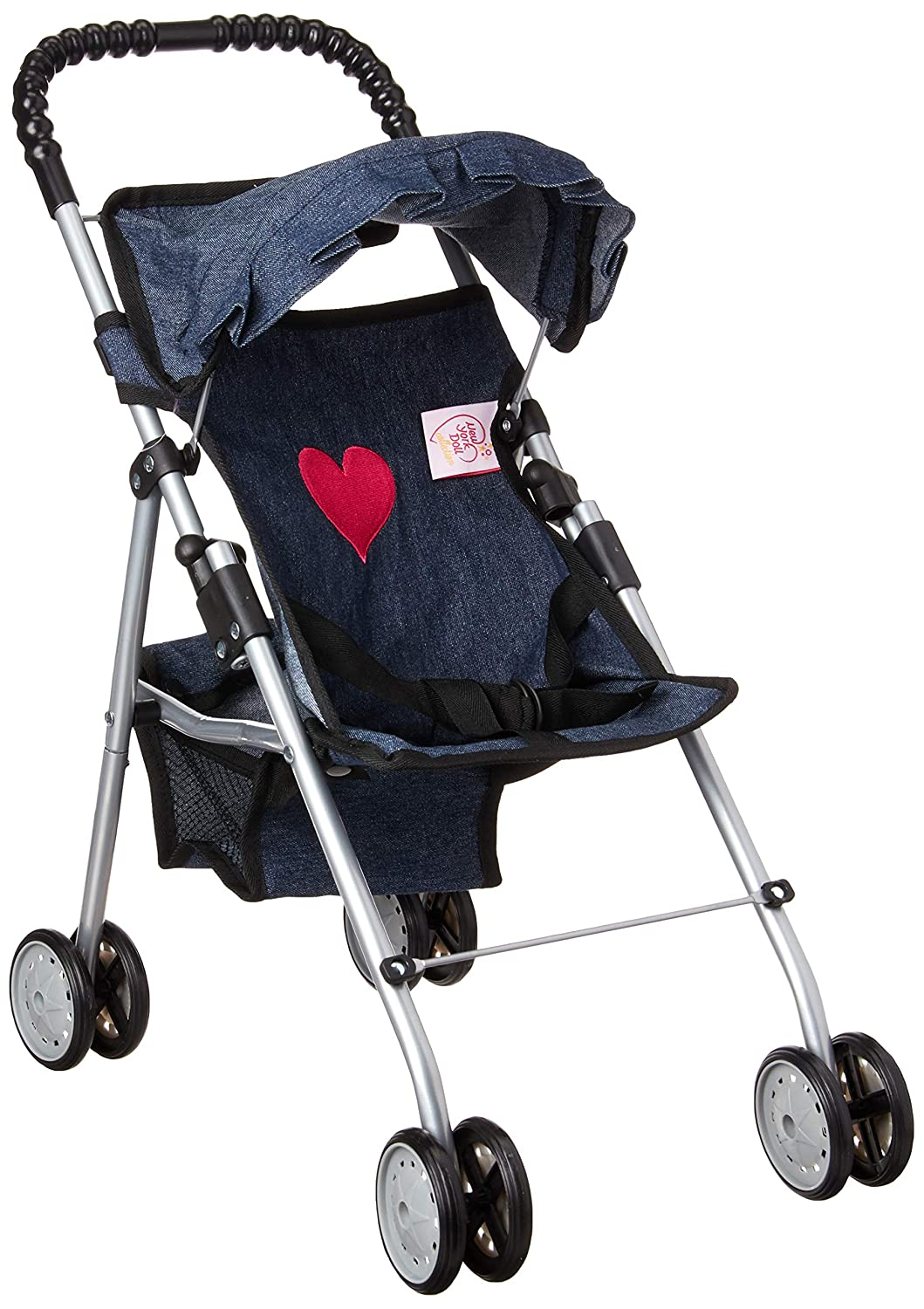 My First Doll Stroller Denim for Baby Doll
