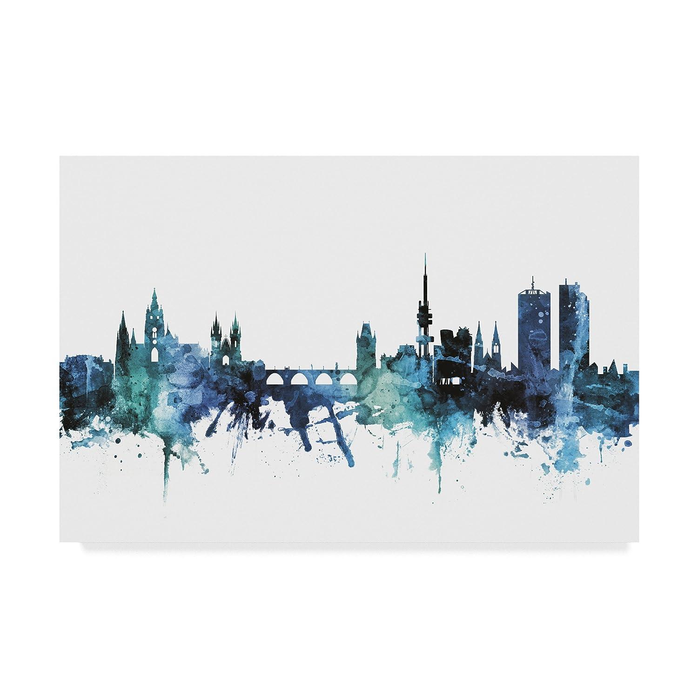 Trademark Fine Art MT01618-C2232GG Michael Tompsett Wall Decor, Multicolor