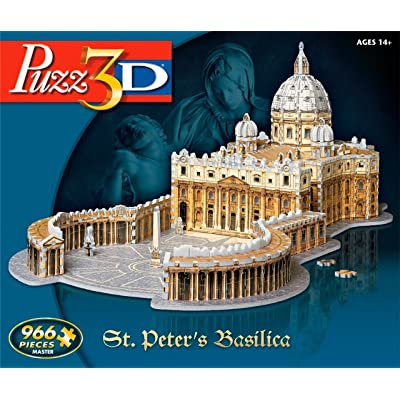 Puzz 3D St. Peters Basilica: Toys & Games [5Bkhe1100404]
