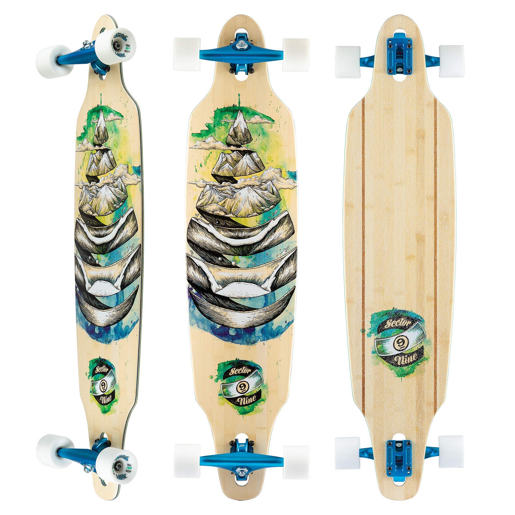 Sector 9 Lookout Dropthrough 42'' Longboard Complete (Droplet)