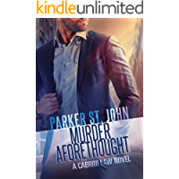 Murder Aforethought: A Cabrini Law Novel book cover