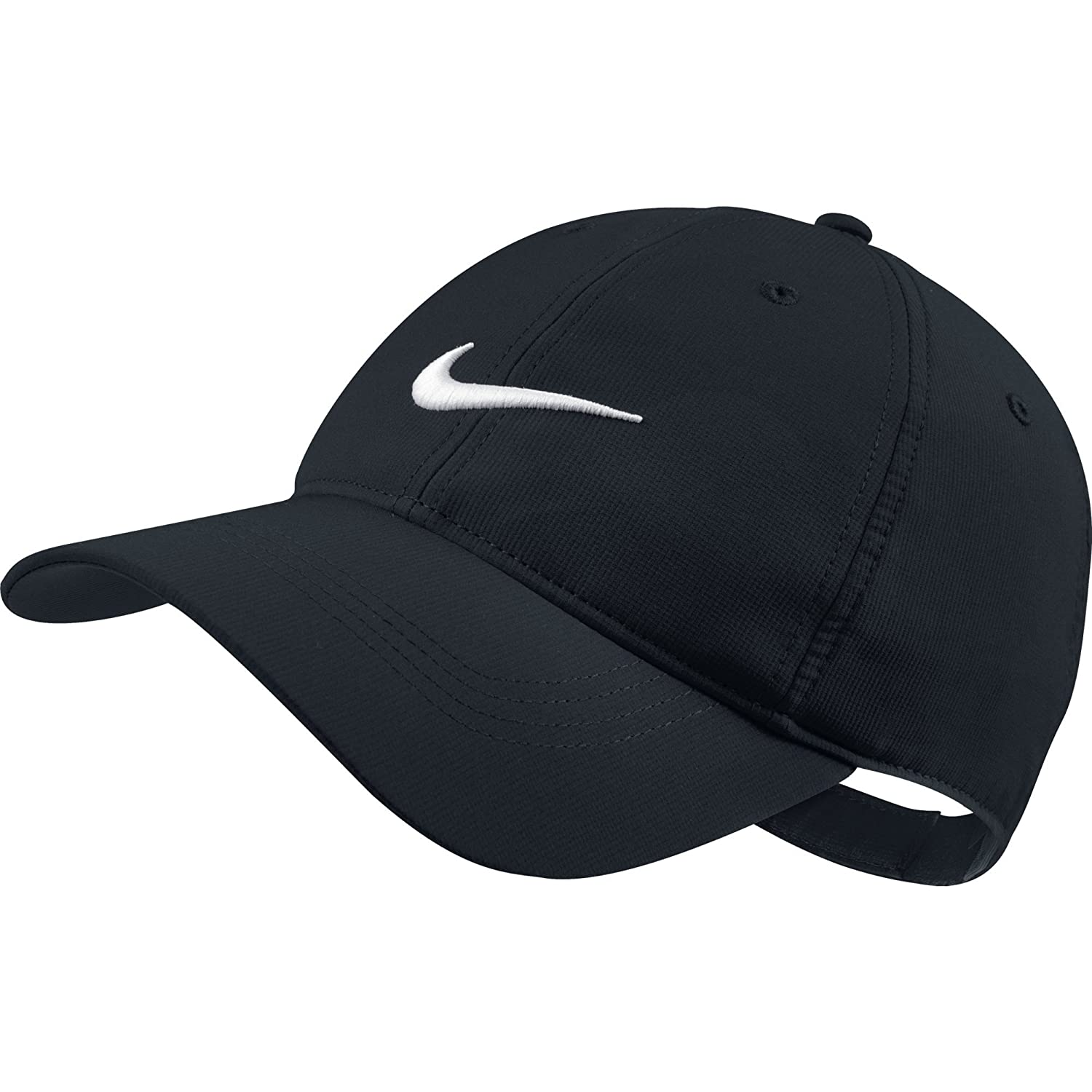 Amazon.com  Nike Tech Swoosh Cap - Variety of Colors Available (Black)   Sports   Outdoors 87260275781