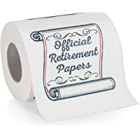 Retirement Papers Toilet Paper - Funny Retirement Gift - For Retired Men, Women, Coworkers, Employees, Boss, Friend…