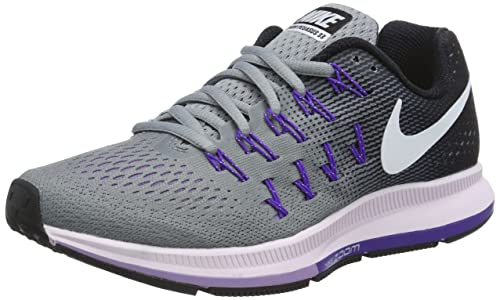 detailed look b6a50 439f6 Nike Wmns Air Zoom Pegasus 33, Zapatillas de Gimnasia para Mujer   Amazon.es  Zapatos y complementos