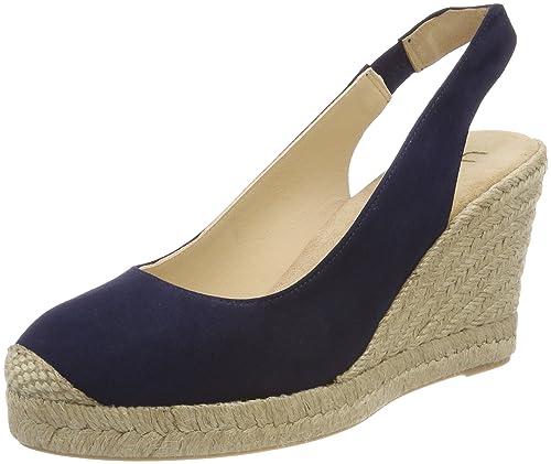 Unisa Cubela_KS, Alpargata para Mujer, Azul (Ocean), 38 EU: Amazon.es: Zapatos y complementos
