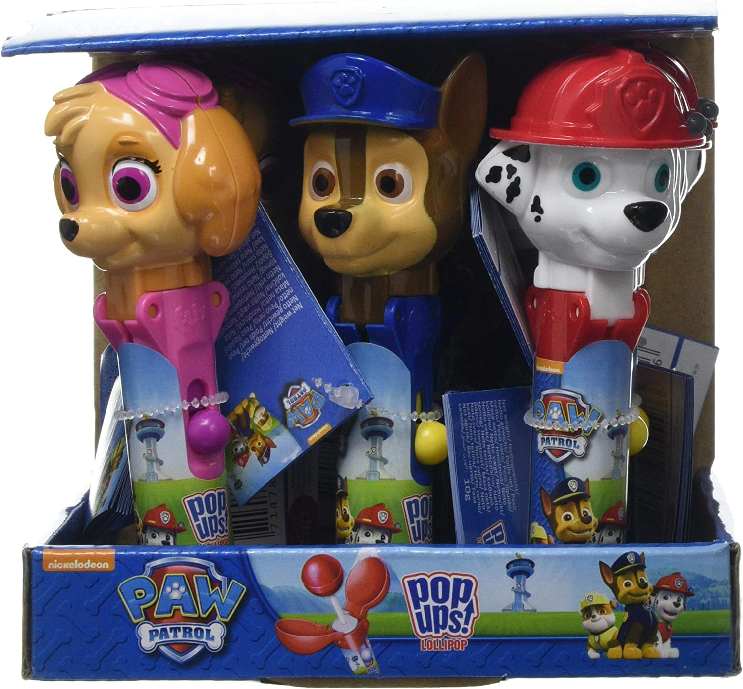 18 Paw Patrol Pups at Play STICKERS Party Favors Birthday Treat Loot Bags