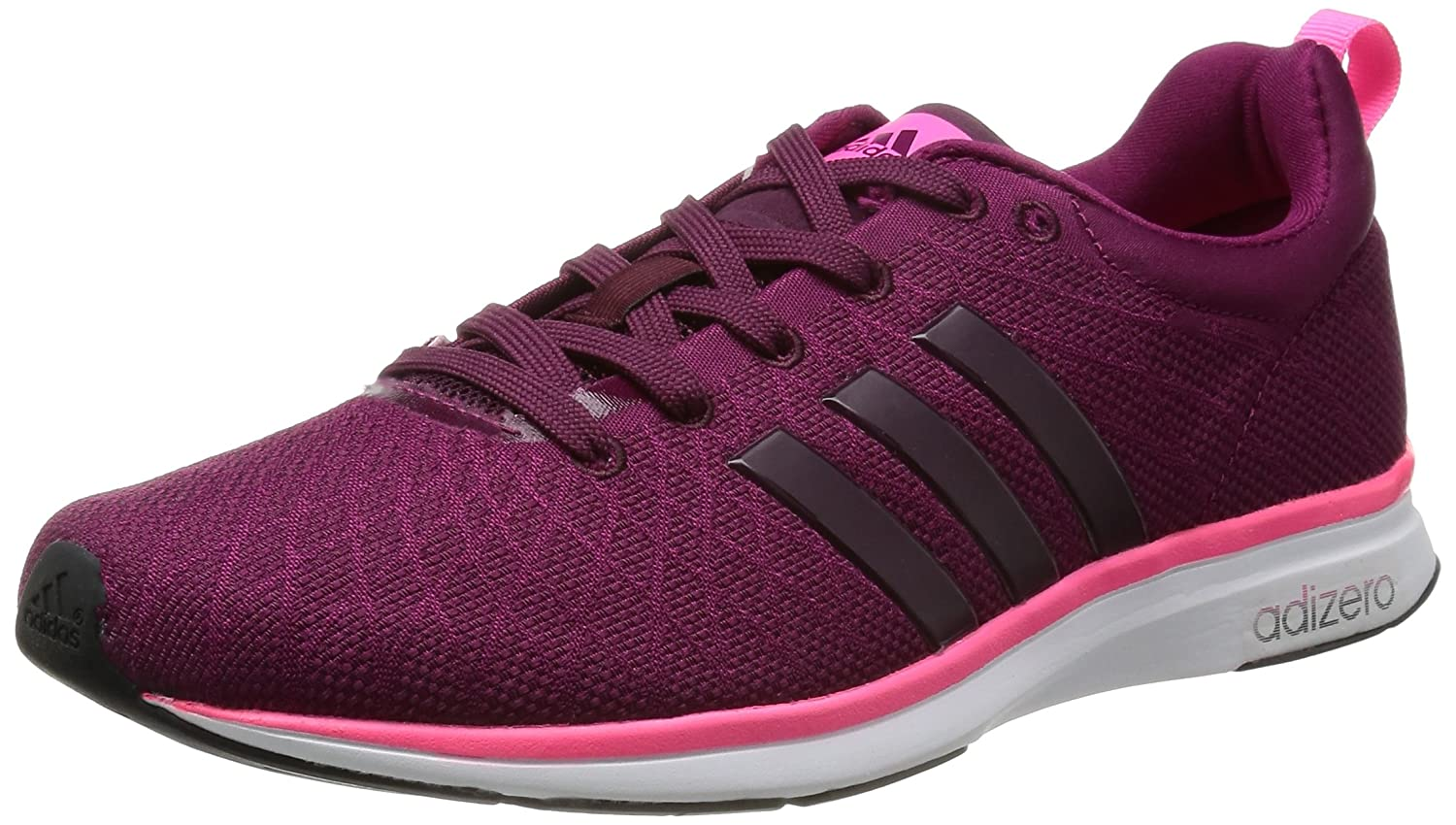 best loved 9474d 3661d Adidas Adizero Feather 4 W, Chaussures de running femme - Rose (Tribe Berry  F14Tribe Berry F14Neon Pink), 39 13 EU Amazon.fr Chaussures et Sacs