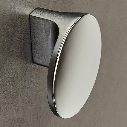 10 x Pomelli per Mobili MIRAGE Distanza Fori 16 mm Cromo lucido Pomello per  Armadio Pomelli per Cucina Pomello per Cassetto di Junker Design