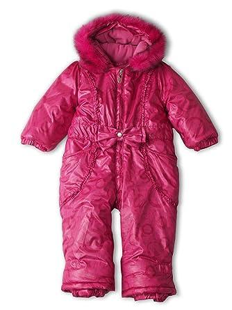 Pampolina Baby Mädchen Schneeanzug 1101240 Gr 98 Pink Pink 1