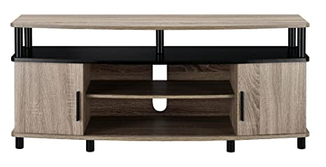 Review Ameriwood Home Carson TV Stand for 50-Inch TVs (Sonoma Oak)