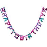 American Greetings Minnie Mouse Bow-tique Banner fiesta de cumpleaños, suministros para fiestas
