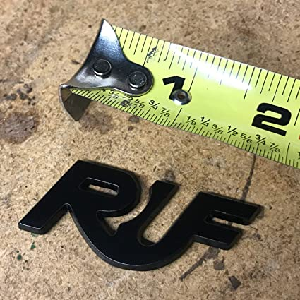 Amazon.com: Vintage Parts USA VPADE10 Ruf Emblem Set - porsche 911 GT spyder RGT CTR R Turbo 3.3 3800S Rt 911s 956: Automotive
