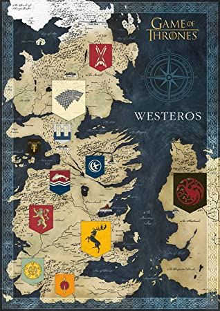 Buffalo Games - Game of Thrones - Map of Westeros - 500 Piece Jigsaw on a golden crown, a storm of swords map, justified map, game of thrones - season 2, jericho map, gendry map, dallas map, a storm of swords, qarth map, the kingsroad, a game of thrones, got map, spooksville map, guild wars 2 map, bloodline map, the pointy end, lord snow, game of thrones - season 1, works based on a song of ice and fire, winter is coming, tales of dunk and egg, clash of kings map, star trek map, winterfell map, a clash of kings, jersey shore map, downton abbey map, a game of thrones: genesis, walking dead map, sons of anarchy, themes in a song of ice and fire, fire and blood, camelot map, world map, a game of thrones collectible card game, the prince of winterfell, valyria map, narnia map,