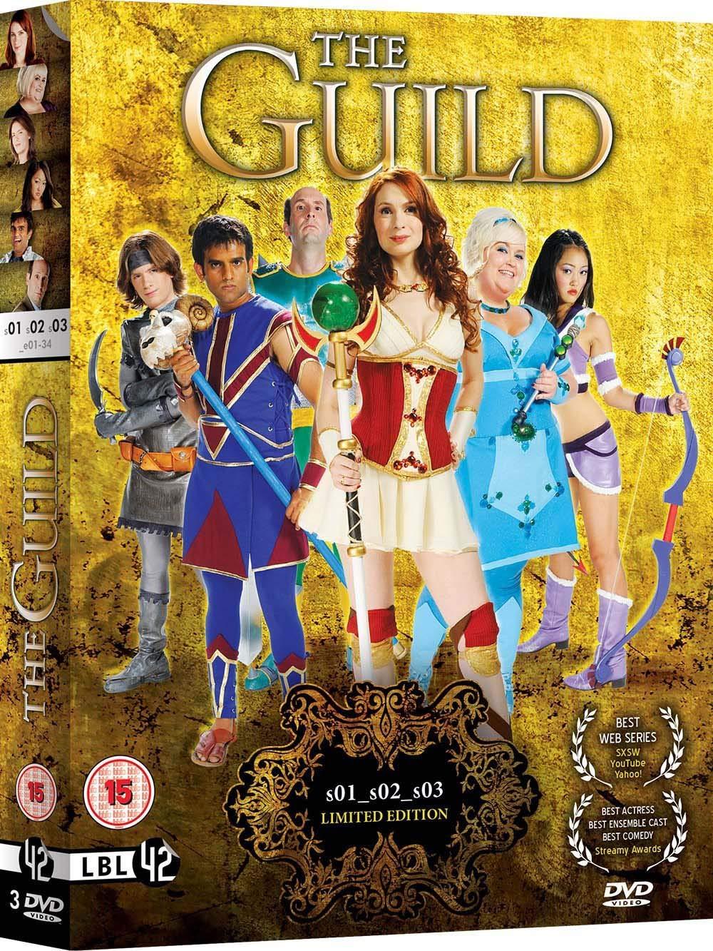 The Guild: Seasons 1 - 3 [DVD] [Reino Unido]