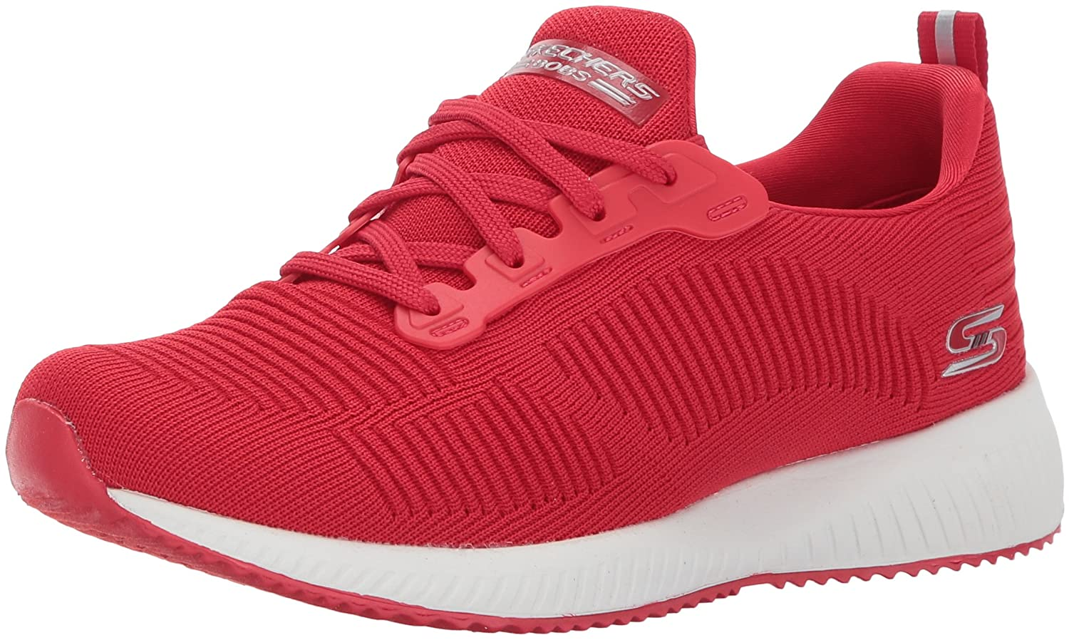 Skechers BOBS from Women's Bobs Squad-Photo Frame Sneaker B073ZVVS8S 10 B(M) US|Red