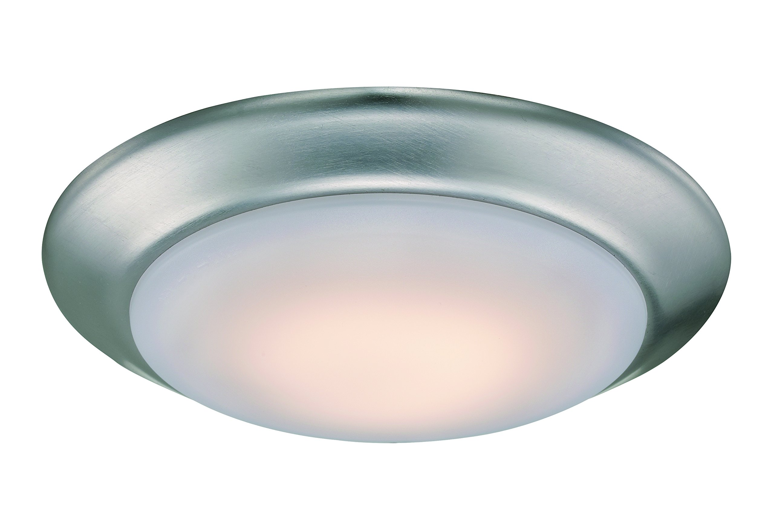 Trans Globe Lighting LED-30016 BN Indoor Vanowen 7.5'' Flushmount  , Brushed Nickel