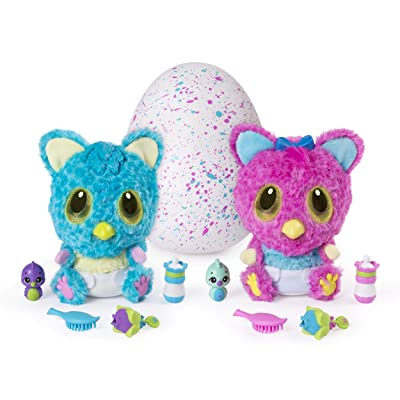 Hatchimals HatchiBabies Cheetree Hatching Egg with Interactive Pet Baby (Styles May Vary) Ages 5 and Up: Toys & Games