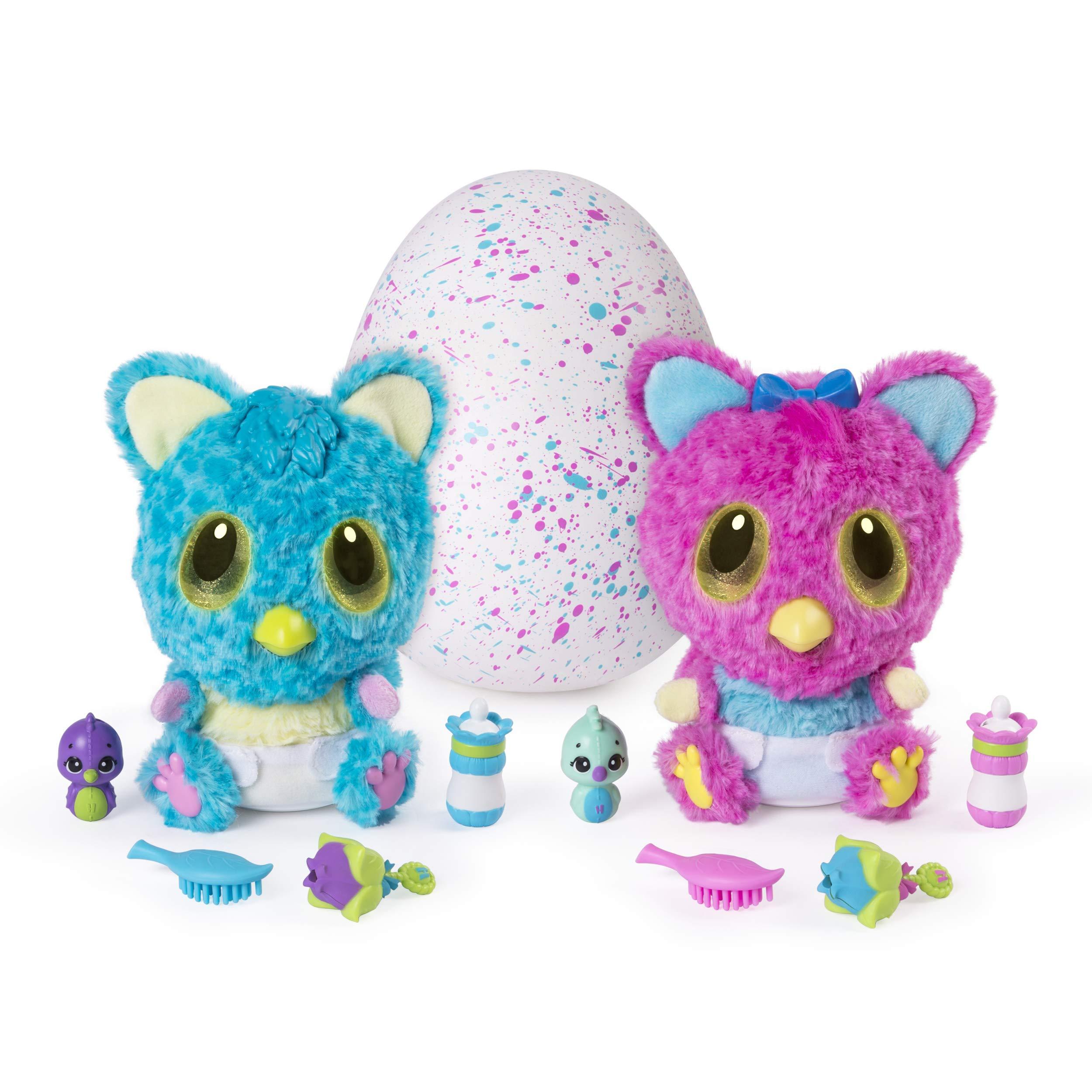 Hatchimals - 6044072 - Peluche interactive surprise - Jeu enfant - HatchiBabies Cheetree product image