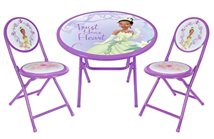 Amazon.com: Disney Princess and the Frog Round Table and Chair Set ...