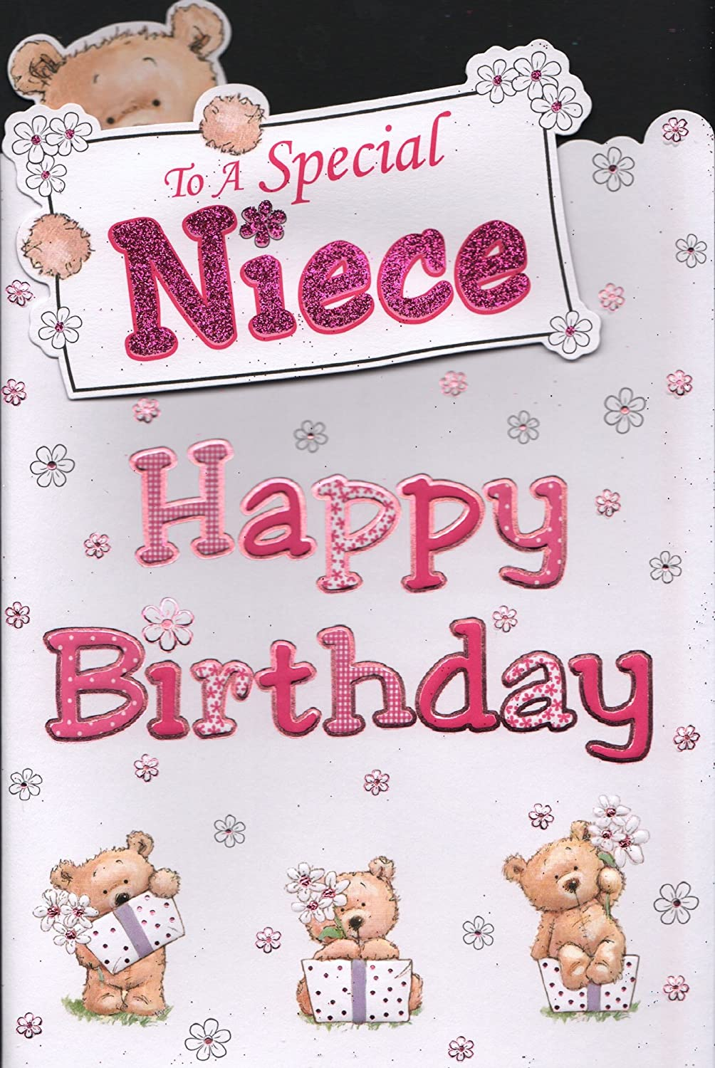 Niece birthday card to a special niece happy birthday amazon niece birthday card to a special niece happy birthday amazon office products bookmarktalkfo Image collections