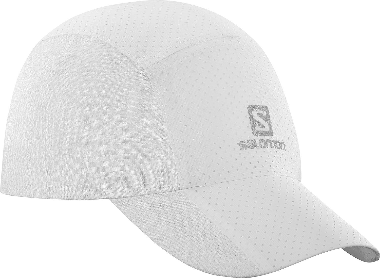 Salomon Cappellino a rete unisex, Xt Compact Cap, Impermeabile, Taglia unica regolabile, Bianco, L40045200