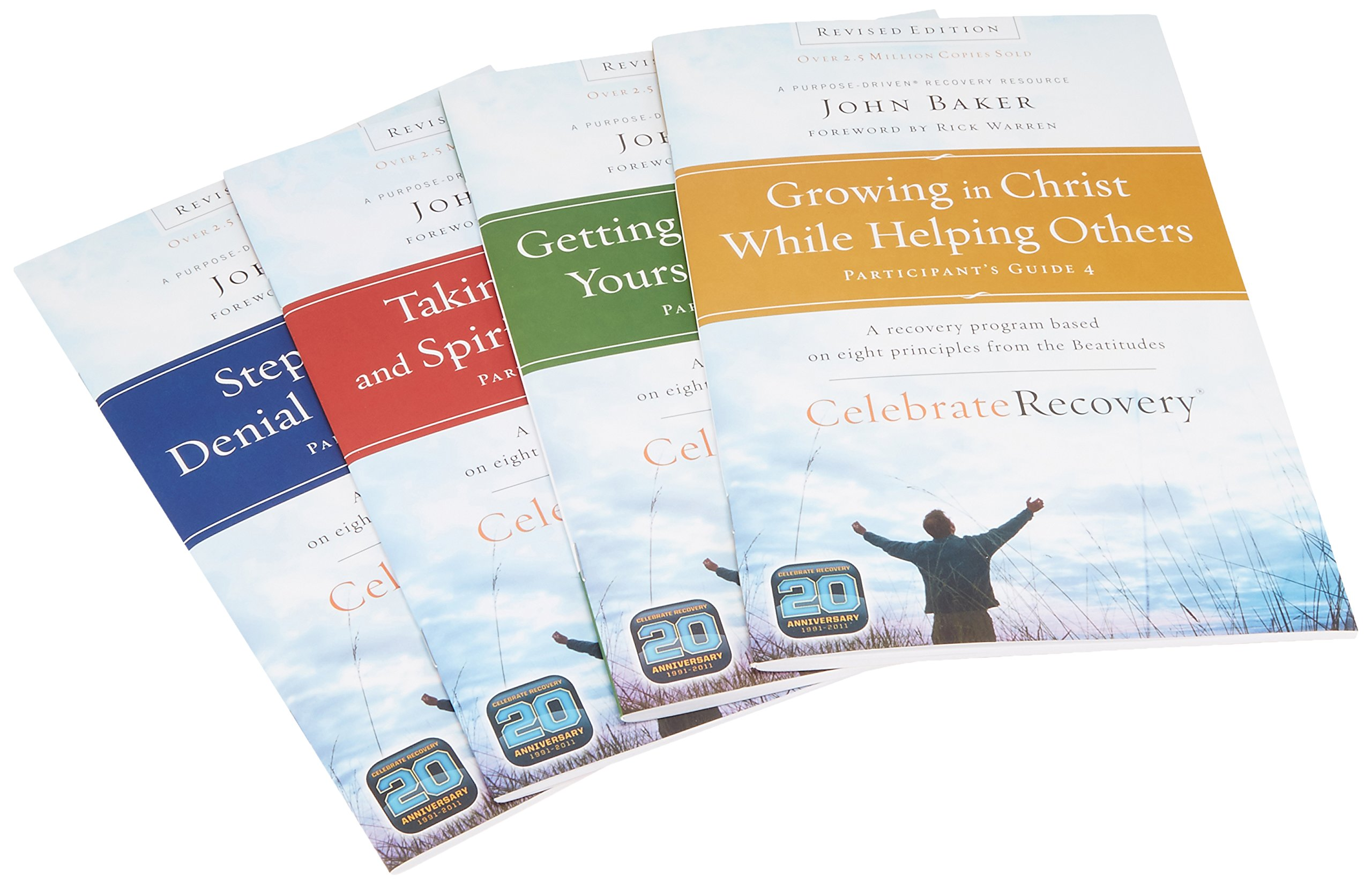 Download Celebrate Recovery Revised Edition Participant's Guide Set: A Program for Implementing a Christ-centered Recovery Ministry in Your Church ebook