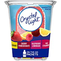 44-Count Crystal Light On The Go Drink Mix Packets